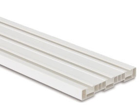 Plastic rails
